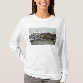 クラークニッカーソンの製材Coの外観 Tシャツ