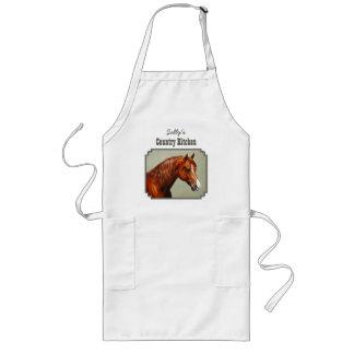 クリのモーガンの馬 ロングエプロン
