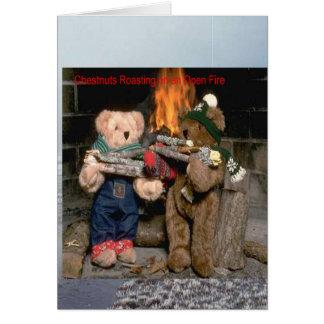 クリの焼けること カード