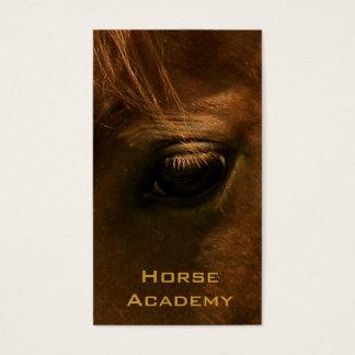 クリの馬の目 名刺