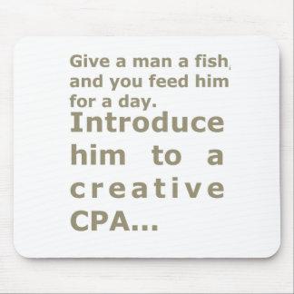クリエイティブCPAに彼を導入して下さい マウスパッド