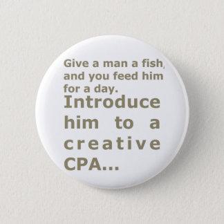 クリエイティブCPAに彼を導入して下さい 5.7CM 丸型バッジ