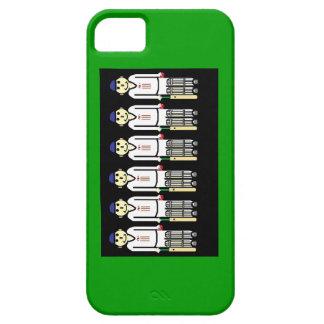 クリケット選手の電話箱 iPhone SE/5/5s ケース