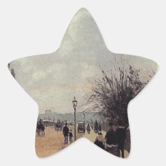 クリスタル・パレス、カミーユ・ピサロ著ロンドン 星シール