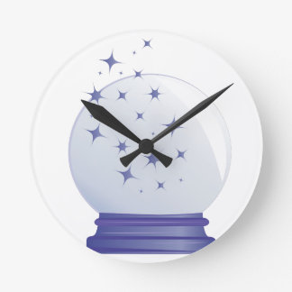 クリスタル・ボール ラウンド壁時計