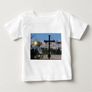 クリスチャンのためのエルサレム ベビーTシャツ
