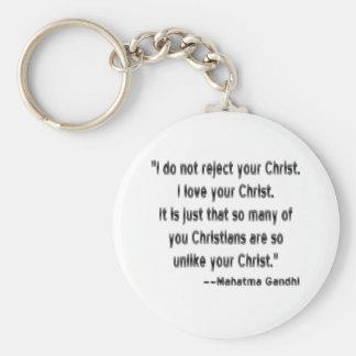 クリスチャンのGandhi キーホルダー