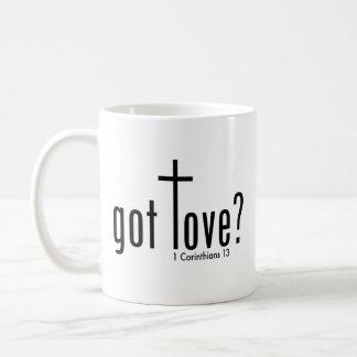 """クリスチャン""""得られた愛か""""。 マグ コーヒーマグカップ"""