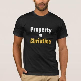 クリスティーナの特性 Tシャツ
