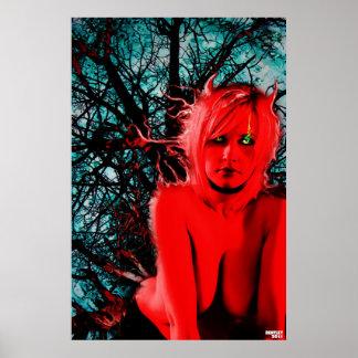 クリスティーナのSuccubusのファインアート ポスター