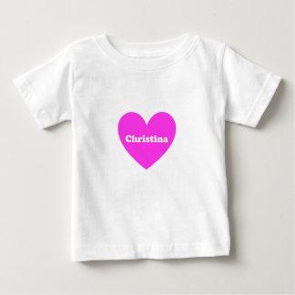 クリスティーナ ベビーTシャツ
