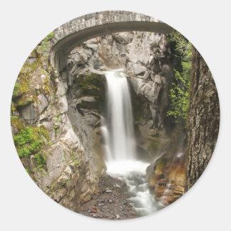 クリスティーンの滝 ラウンドシール