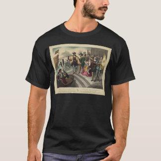 クリストファー・コロンブスの出発 Tシャツ