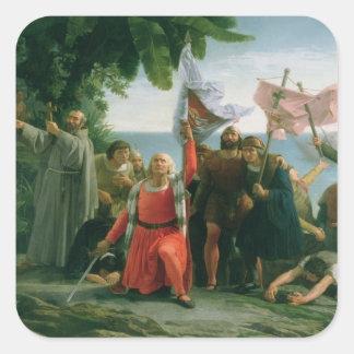クリストファー・コロンブスの最初着陸 スクエアシール