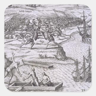クリストファー・コロンブス(14間のジャマイカの戦い スクエアシール
