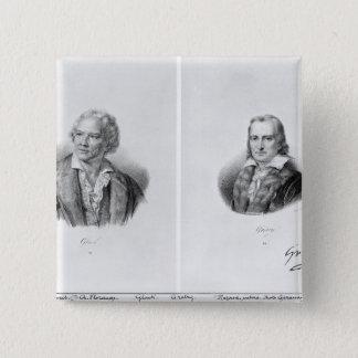 クリストフWillibaldフォンGluckおよびアンドレ 5.1cm 正方形バッジ