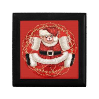 クリスマスくま5のギフト用の箱4 ギフトボックス