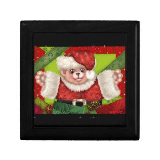 クリスマスくま5のギフト用の箱 ギフトボックス