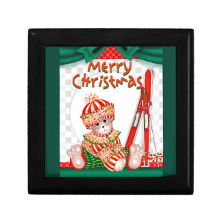 クリスマスくま7のギフト用の箱2 ギフトボックス