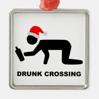 クリスマスによって飲まれる交差の印 メタルオーナメント