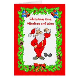 、クリスマスのために合うクリスマスカード カード