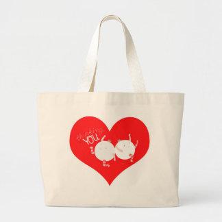 クリスマスのためのあなたの考えること ラージトートバッグ