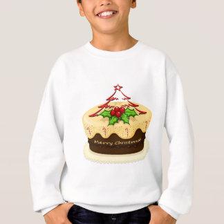 クリスマスのためのおいしいケーキ スウェットシャツ