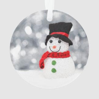 クリスマスのためのかわいい雪だるまのオーナメント オーナメント