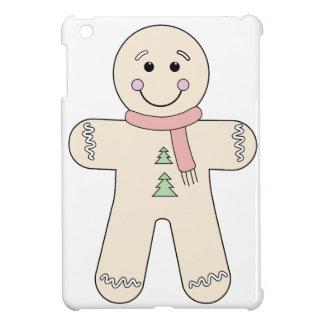 クリスマスのためのジンジャーブレッドマン iPad MINIケース