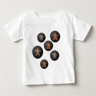 クリスマスのためのジンジャーブレッド ベビーTシャツ