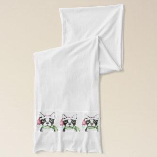 クリスマスのためのテリアのスカーフ スカーフ
