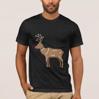 クリスマスのためのトナカイ肉 Tシャツ