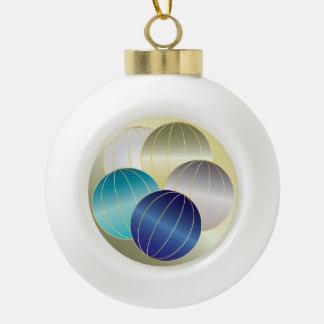 クリスマスのための宝石そして宝石 セラミックボールオーナメント
