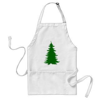 クリスマスのための木 スタンダードエプロン