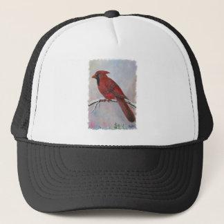 クリスマスのための(鳥)ショウジョウコウカンチョウ キャップ