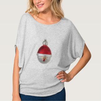 クリスマスのつまらないもの緩い適合のTシャツ Tシャツ