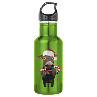 クリスマスのろば-サンタのろば-ろばサンタ ウォーターボトル