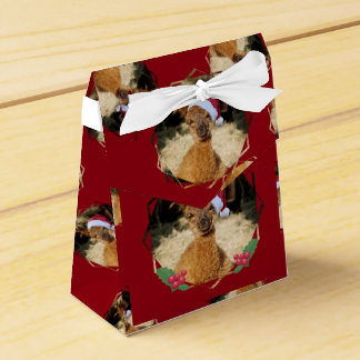 クリスマスのアルパカのギフト用の箱 フェイバーボックス