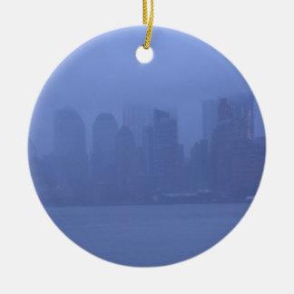 クリスマスのオーナメントの装飾NYCニューヨークシティ セラミックオーナメント