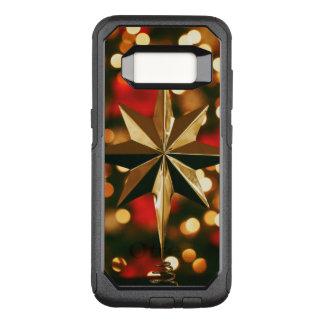 クリスマスのオーナメントの電話箱 オッターボックスコミューターSamsung GALAXY S8 ケース