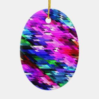クリスマスのオーナメントカラフルで写実的なスペクトルの装飾 セラミックオーナメント