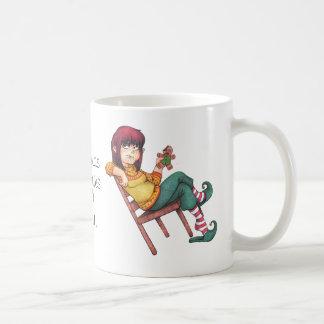 クリスマスのカロリーは数えません! 休日 コーヒーマグカップ