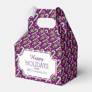 クリスマスのキャンディ・ケーンのクリスマスのプレゼント箱 フェイバーボックス