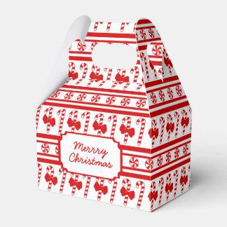 クリスマスのキャンディ・ケーンは縞で飾ります フェイバーボックス