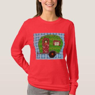 クリスマスのキャンピングカー Tシャツ