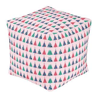クリスマスのキューブパフ プーフ