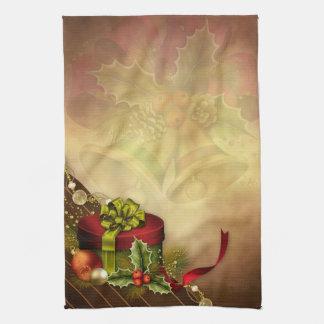 クリスマスのギフトの装飾の台所タオル キッチンタオル