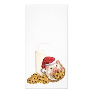 クリスマスのクッキーのブタ カード