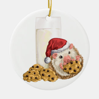 クリスマスのクッキーのブタ セラミックオーナメント