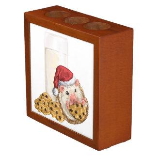 クリスマスのクッキーのブタ ペンスタンド